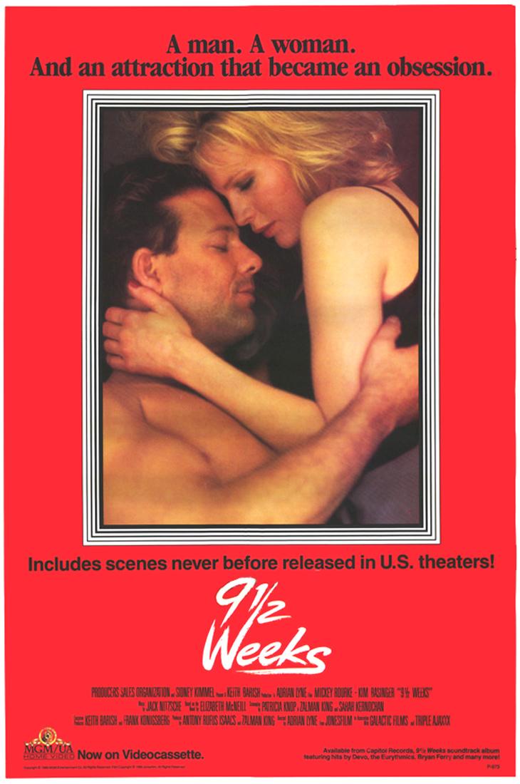 Дев'ять з половиною тижнів (9 1 / 2 тижнів) (1986) (Nine and a Half