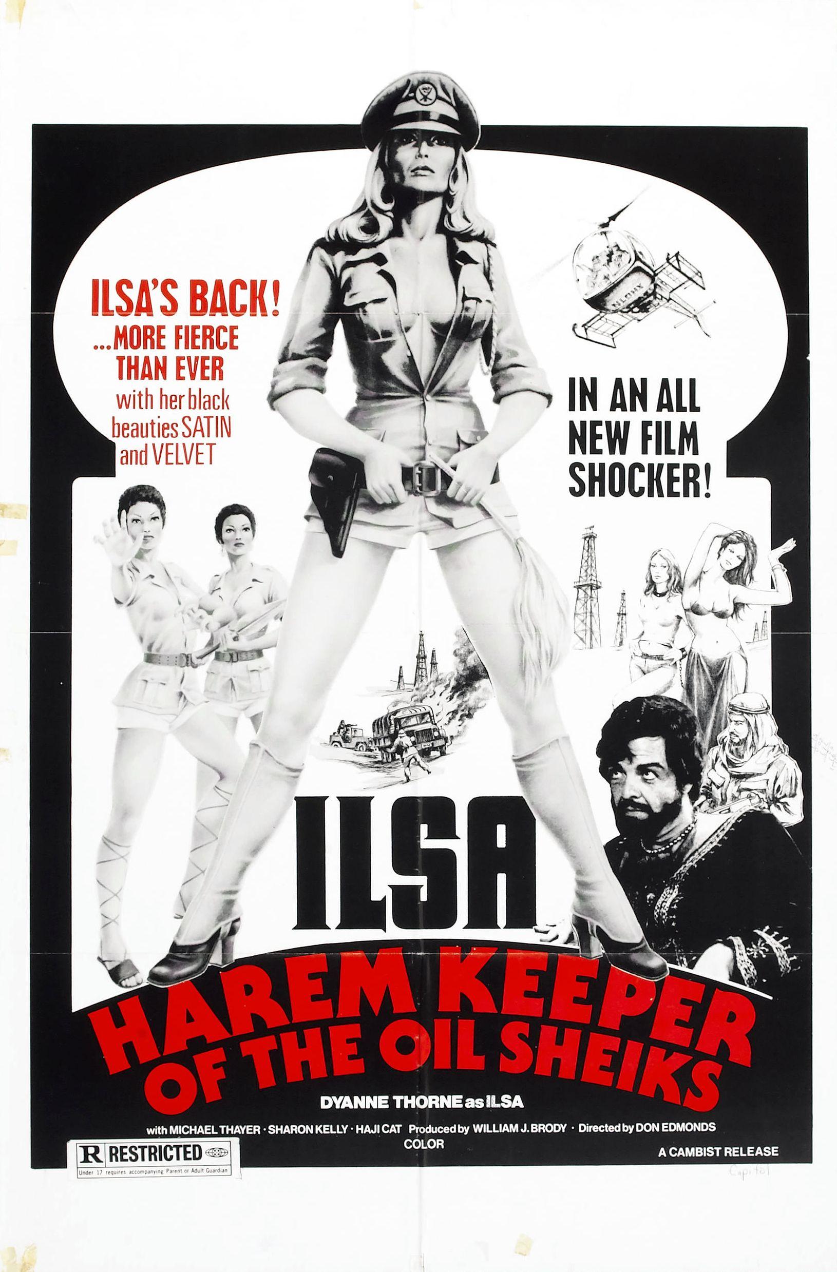 Название Ильза - хранительница гарема нефтяного шейха / Ilsa, Harem