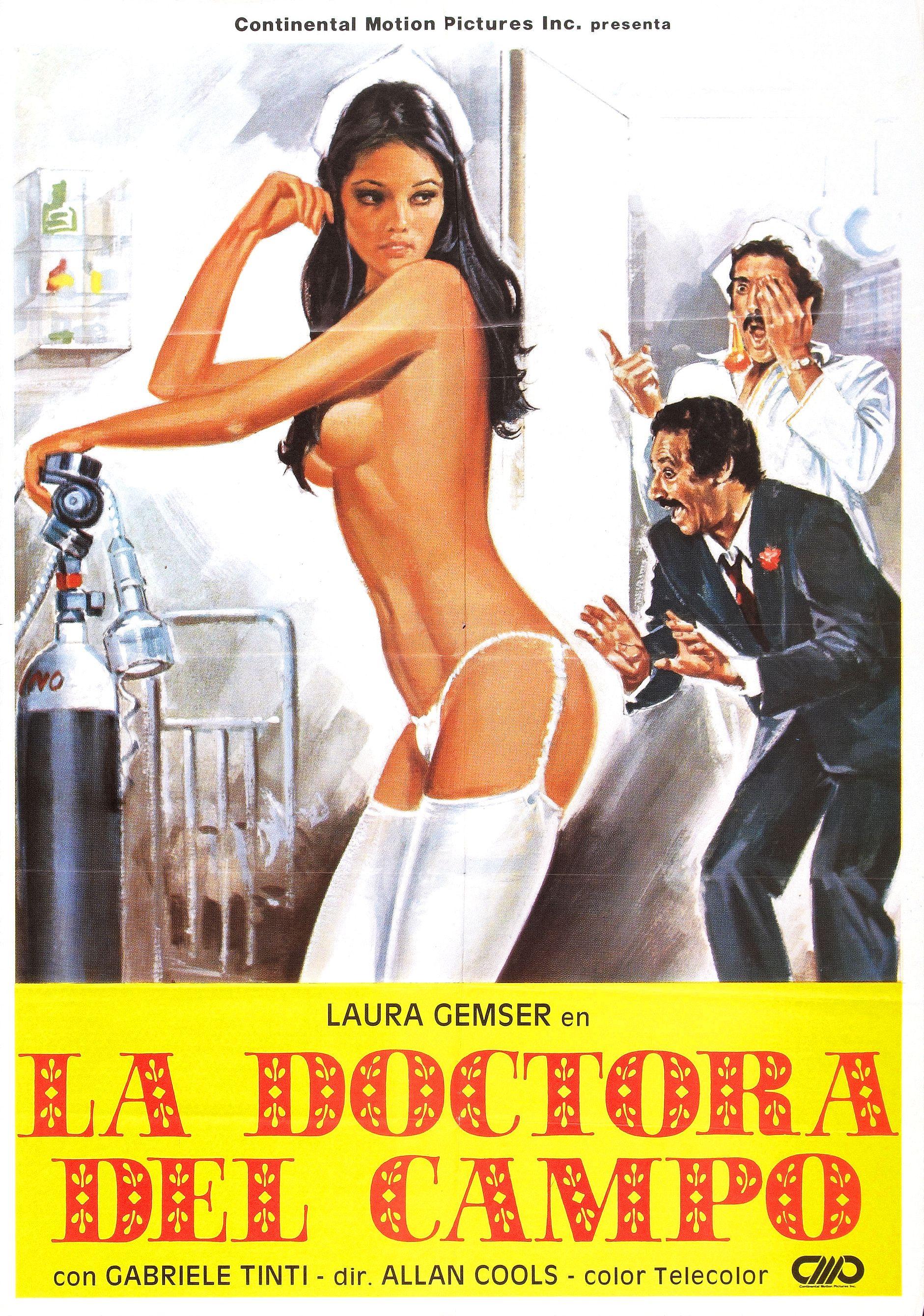 В 60-е годы постеры фильмов для взрослых были намного безобиднее, чем