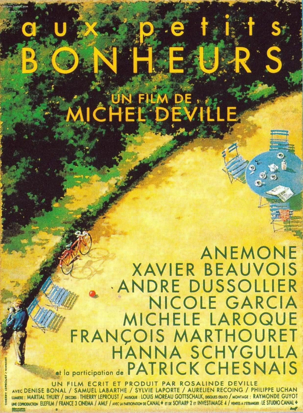 Useri care au în colectie filmul Aux petits bonheurs.